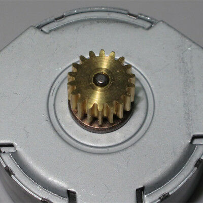 Micro MITSUMI 35mm Round Thin Stepper Stepping Motor 2-phase 6-wire Copper Gear 4