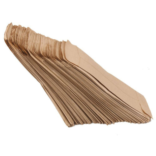 100pcs Small Kraft Paper Gift Bags Vintage Wedding Treat Brown Paper Bag 8
