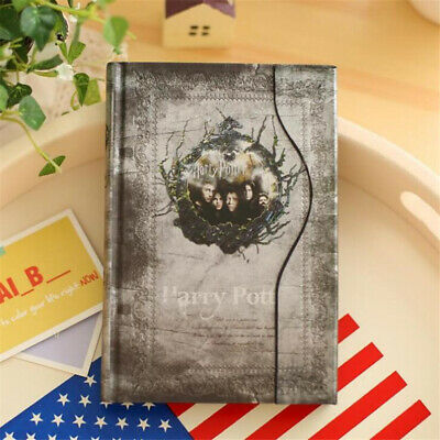 4 Color Travel Notebook Journal Books Harry Potter Vintage Agenda Notepad Diary 4