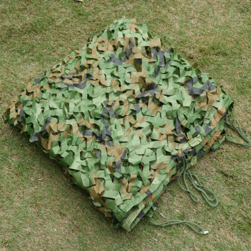 Camouflage Net Camo Hunting Shooting Hide Army Camping Woodland Netting 5M x1.5M 6
