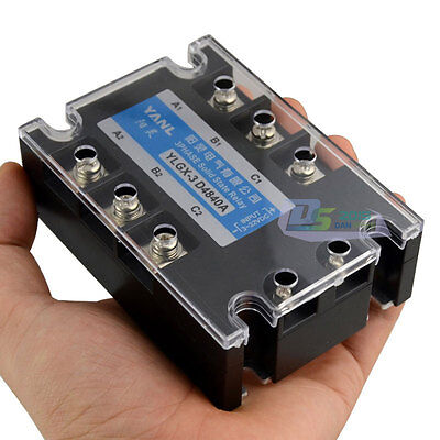 Three Phase 3 Phase DC AC Solid State Relay SSR-20A 20A 3-32VDC/480VAC Brand New