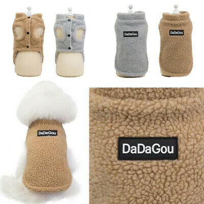 2019 New Puppy Pet Dog Clothes Hoodie Winter Warm Sweater Coat Costumes Apparel 9