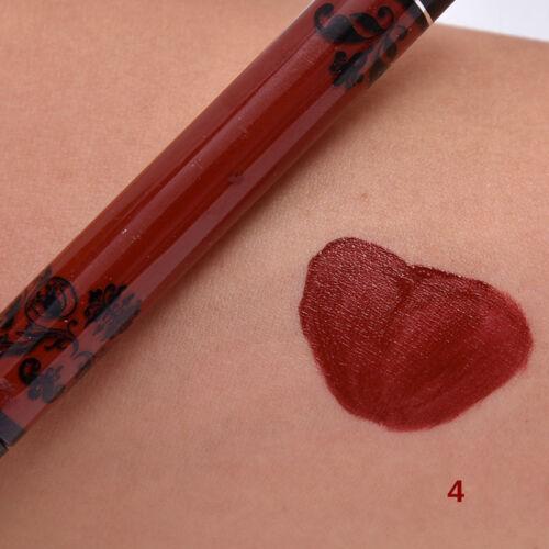 15Colors Fashion Lip Gloss Matte Liquid Lipstick Makeup Long Lasting Waterproof 6