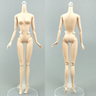 """1/6 Joint DIY Movable Nude Naked Doll Body For 1:6 BJD Dollhouse DIY Body 11.5"""" 7"""