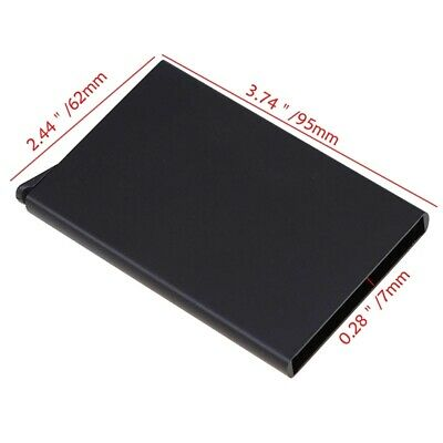 Men Credit Card Holder RFID Blocking ID Card Case Slim Money Travel Wallet Gift 11