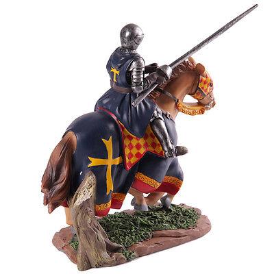10162 Wandtattoo-Loft® Wandtattoo Aufkleber Ritter Pferd Mittelalter Lanze