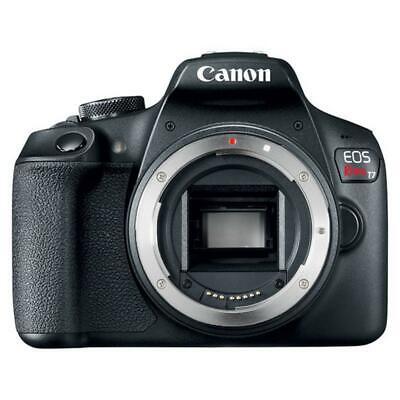 Canon EOS Rebel T7 24.1MP DSLR Camera + 18-55mm + 75-300mm Lens Accessory Bundle 2