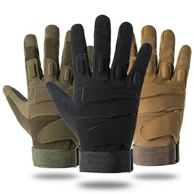 US Men Army Military Tactical Shooting Motorcycle Hunt Half /& Full Finger Gloves