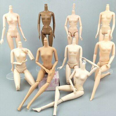 """1/6 Joint DIY Movable Nude Naked Doll Body For 1:6 BJD Dollhouse DIY Body 11.5"""" 4"""