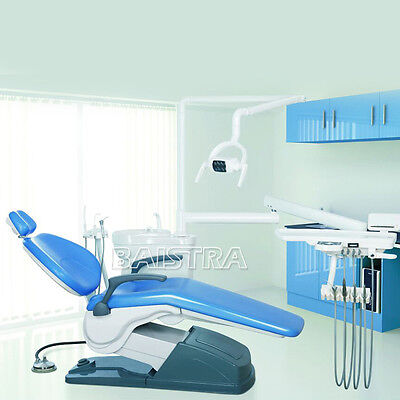 Dental Chair Unit Computer Controlled Air Compressor Scaler Curing Handpiece UK 6