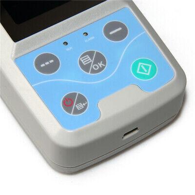 Ambulatory Blood Pressure Patient Monitor Oximeter SPO2 NIBP + 4 Cuffs+ Software 9