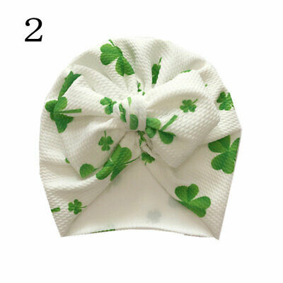Newborn Baby Hat Head Wrap Flower Soft Bowknot Baby Turban Cap For Girl Toddler 6