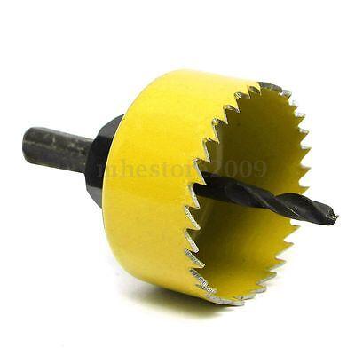 3 of 6 8 Pcs Wood Alloy Iron Cutter Bimetal Hole Saw Drill Bit Kit w Hex Wrench