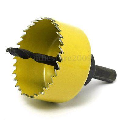 2 of 6 8 Pcs Wood Alloy Iron Cutter Bimetal Hole Saw Drill Bit Kit w Hex Wrench