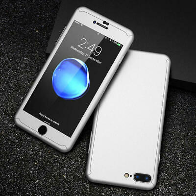 For iPhone 6 7 8 5s Plus XR XS Max Case Shockproof360 Bumper Hybrid Phone Cover 8