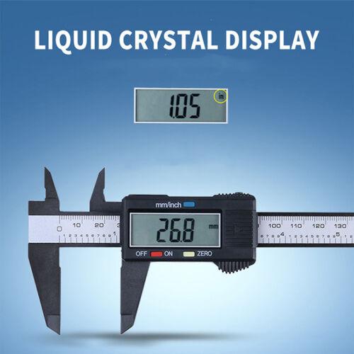 Plastik 150mm/6inch LCD Digital elektronischer Vernier Messgerät Mikrometer