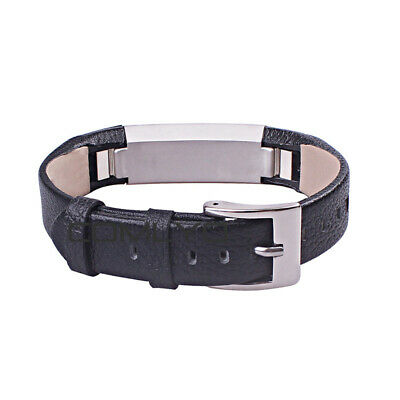 For Fitbit Alta / Alta HR Genuine Leather Watch Replacement Band Wrist Strap UK 9
