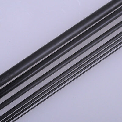 Carbon Fiber Tube & Rods Round For RC Airplane 1.8mm 2mm 3mm 6mm You Pick Sizes 4