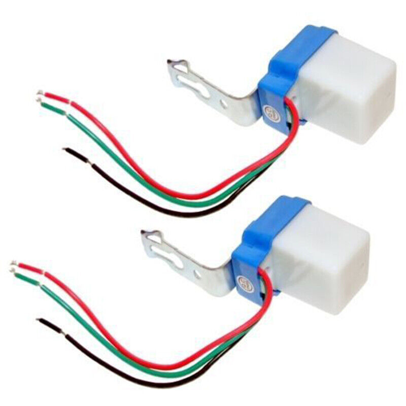 Interrupteur crépusculaire 12V 10 A Capteur lumière Twilight ensemble 3