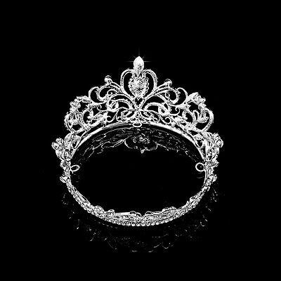 Rhinestone Couronne Diadèmes Mariage mariée Accessoires pour cheveux Casque