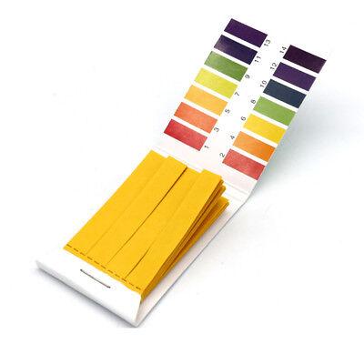 pH 1-14 Universal Full Range Litmus Test 80 Paper Strips Tester Indicator Urine