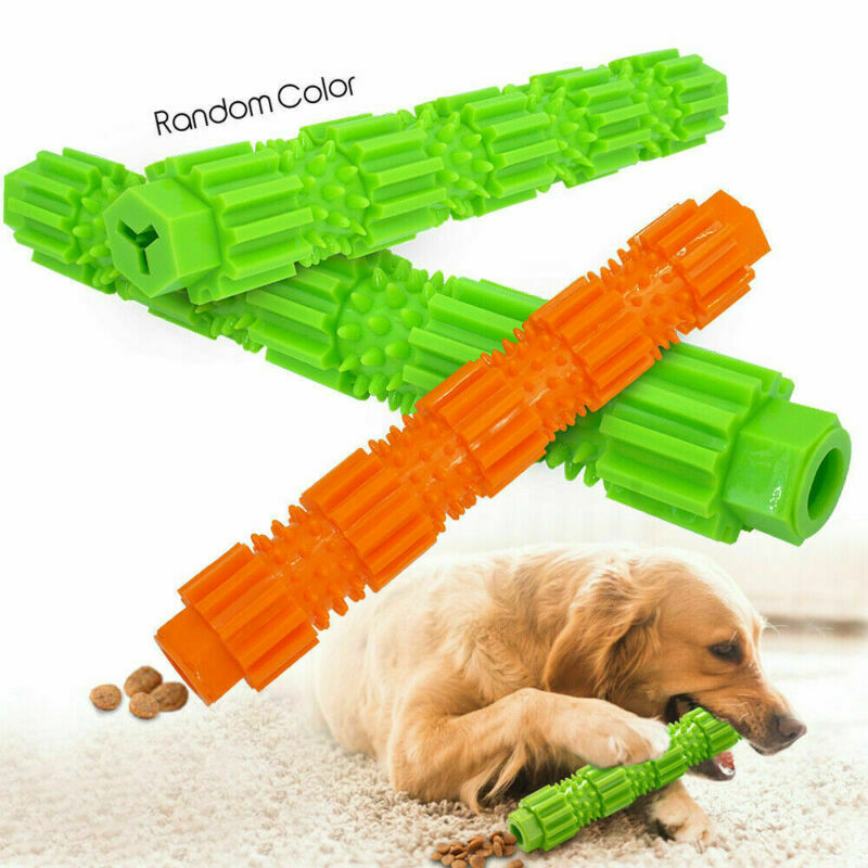 Dog Chew Toys for Aggressive Chewers Treat Training Rubber Tooth Cleaning Toy 2