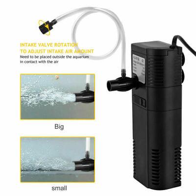 Sehr 450 L/H AQUARIUM Innenfilter Aquarium Pumpe für Aquarium bis 60 RK12
