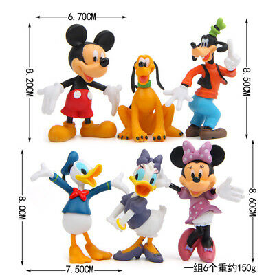 37c3388f910 ... 6FREE Shipping 6pcs Disney Mickey Mouse Clubhouse Figurine Cute Figure  Set Cake Topper 2