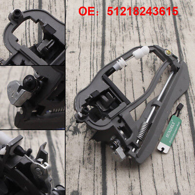 1218243615 8243615 Front Left Side Outside Door Handle Carrier For BMW X5 E53 2