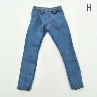 High Quality 1/6 Doll Clothes Jeans Pants For Ken Doll Trousers For 11.5in Doll 10
