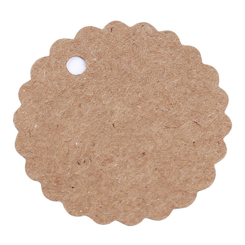 Kraft Paper Hang Tags Wedding Party Favor Label Thank you Gift Cards T 7