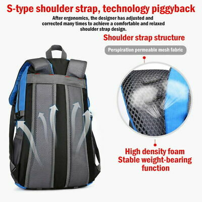 40 Liter Waterproof Outdoor Sports Bag Backpack Travel Hiking Camping Rucksack 4
