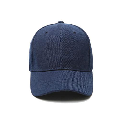 Baseball Cap Women Men Plain Snapback Trucker Sports Caps Sun Hats Summer Unisex 6
