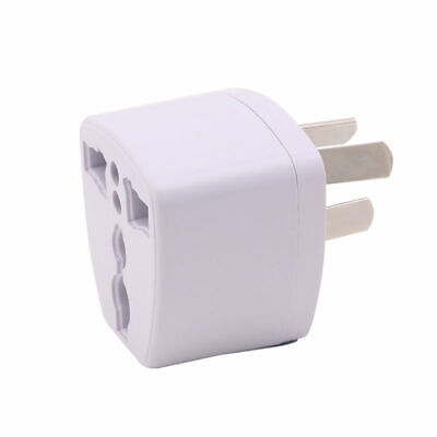 UK US EU Universal to AU 3 pin AC Power Plug Adapter Travel Converter Australia 2