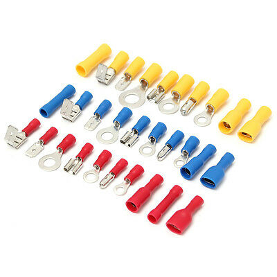 Electrical Wire Connector 720pcs Assorted Insulated Crimp Terminals Spade Set DH 8