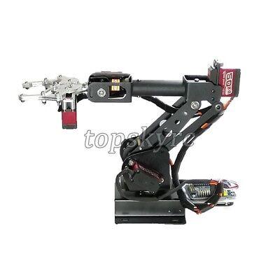 SZ Top Assembled 6DOF Robot Arm Clamp Set DIY Robotic Kit W/ Large Torque Servo 2