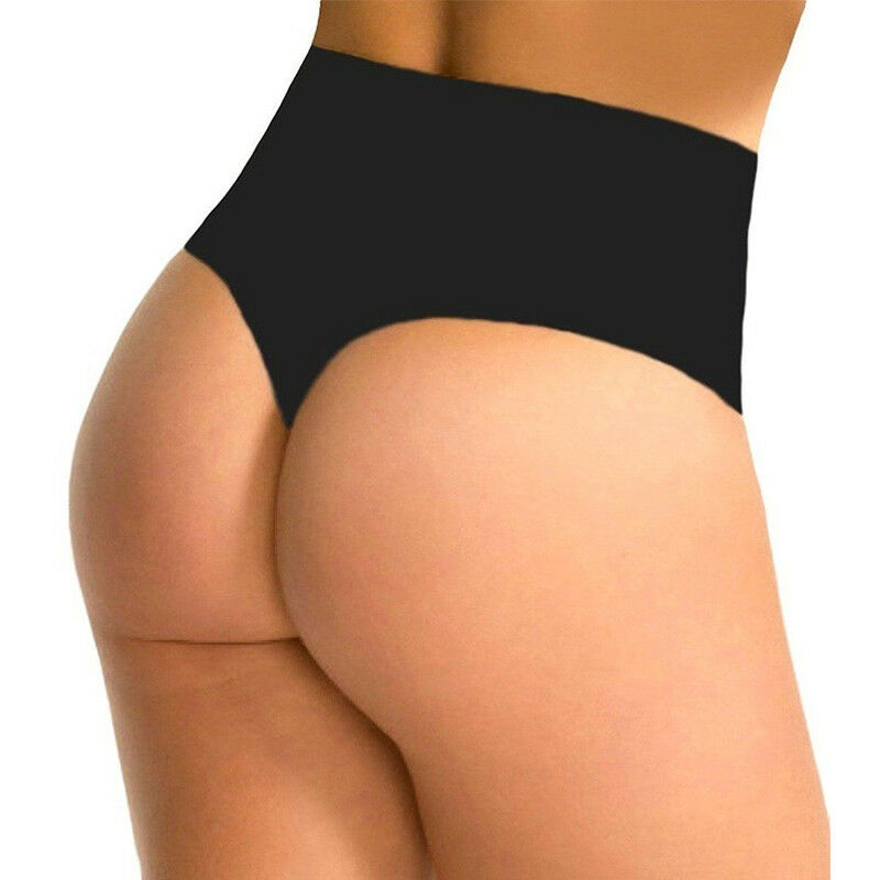 2b53c75895943 Sexy Womens High Waist Body Shaper Tummy Control Corset Thong Panties  Shapewear  6 6 of 12 ...