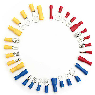 720pcs Electrical Wire Connector Assorted Insulated Crimp Terminals Spade Set DH 11