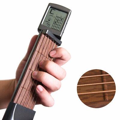 6Fret 6String Portable Pocket Guitar Practice Tool Guitar Acoustic Chord.Trainer 2