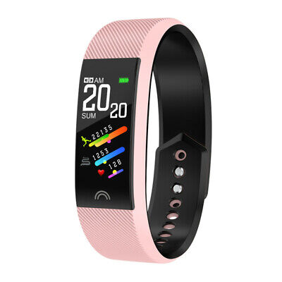 Smart Watch Fitness Tracker Heart Rate Blood Pressure Tempered Mirror Waterproof 11