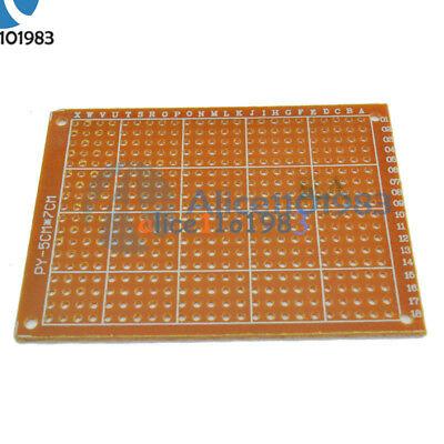 5Pcs 5 x 7 cm DIY Prototype Paper PCB fr4 Universal Board prototyping pcb kit