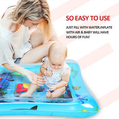 Inflatable Baby Water Mat Novelty Play for Kids Children Infants Funny 60*51cm 2