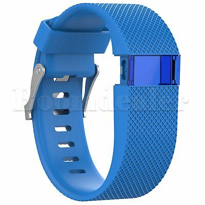 Replacement Silicone Wrist Strap Bracelet For Fitbit Charge HR Activity Tracker 5