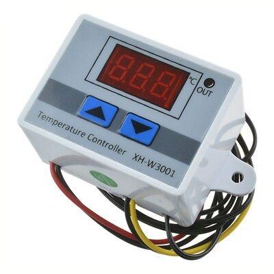 12V/24V/220V Digital LED Temperature Controller Thermostat Control Switch Probe 2