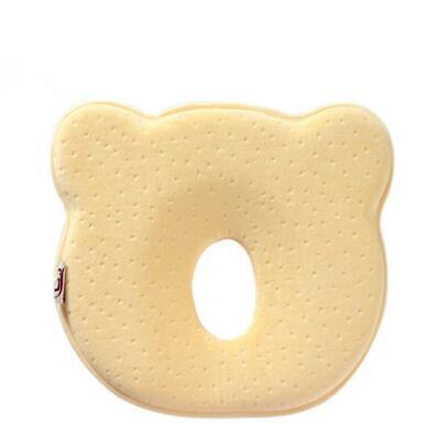 Baby Kids Pillow Memory Velvet Prevent Flat Head Anti Roll Support Neck T 4