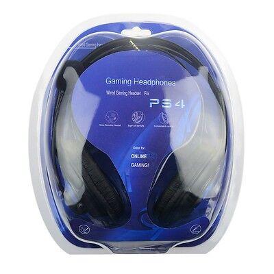 Cascos auriculares con microfono para playstation4, ps4, pc Ordenador Gaming CAB 5
