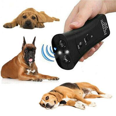 Ultrasonic Anti Dog Barking Trainer LED Light Gentle Chaser Petgentle Sonics 2