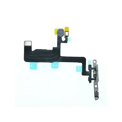 Nappe Bouton Power On Off  Flash Micro Iphone 6 Plaque Métal Montage Facile 12