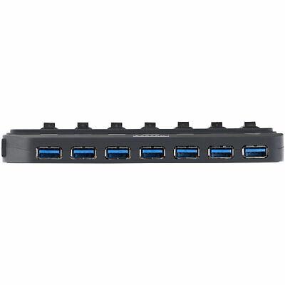XYSTEC AKTIVER USB 3.0 HUB mit 7 Ports, einzeln schaltbar, 2