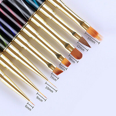 Nail Art UV Gel Liner Painting Gradient Brush Art Pens Manicure Nail Art Tools